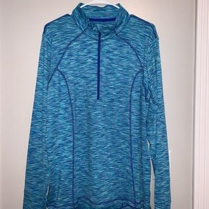 Xersion Blue Long Sleeve Athletic Top